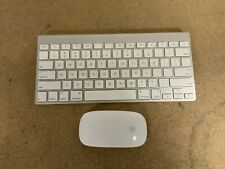 Genuine Apple Wireless Keyboard A1314 and Magic Mouse A1296 Combo *Excellent*