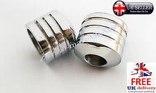 STANDARD MOTORCYCLE MOTORBIKE HANDLEBAR ROUND BAR END WEIGHTS ALUMINUM 22mm 7/8""