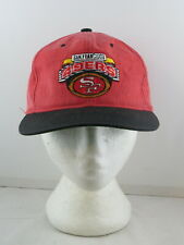 San Francisco 49ers Hat by Starter (VTG) - Two Tone Stone Wash - Adult Snapback