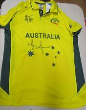 Mitchell Johnson (Australia) signed official ICC 2015 World Cup -Australia shirt