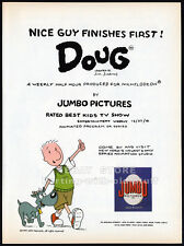 Nickelodeon__DOUG__Orig 1992 Trade print AD promo__Jim Jinkins_BEST KIDS TV SHOW