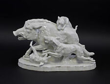 a3-44331 Porcelain figurine wild boar-group
