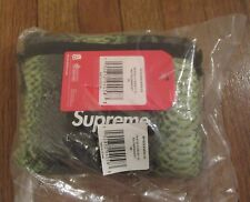 Supreme The North Face Snakeskin Flyweight Duffle Bag Green SS18 DS Brand New