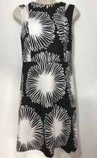 Kensie Sz S Black/White Cocktail/Party Dress Cold Shoulder Ret $90