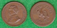 General G. B. McClellan / United States Copper Civil War Token - Teac