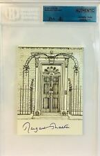MARGARET THATCHER Signed Autograph Prime Minister JSA Beckett Encapsulated