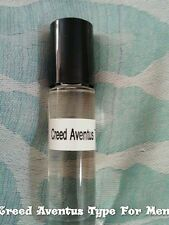 Creed Aventus Type for Men ( M ) Pure Perfume Body Oil 1/3 oz  Roll - On