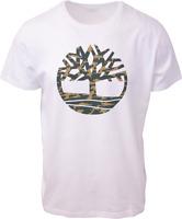 Timberland Men's White Camo Tree S/S Tee (Retail $35) S23