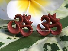 """OM"" Ohrstecker / Ohrring / Plugs SW003"