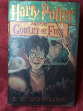J.K. Rowling - HARRY POTTER AND THE GOBLET OF FIRE - 1st/1st