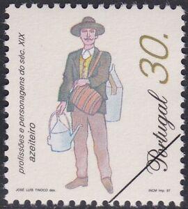 Specimen, Portugal Sc2149 19th Century Profession, Olive Oil Seller