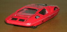 1/38 Scale Ferrari 512S Modulo Diecast Concept Wedge Car - Sunnyside SS-904 Red