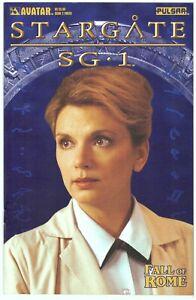 Stargate SG-1 Fall of Rome #2B Photo Variant> Avatar 2004> VF/NM> Bg'd&Brd'd  a