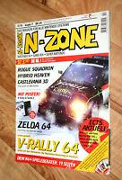1998 Nintendo N-Zone Magazin Zelda Ocarina of Time Bomberman Gex Banjo-Kazooie