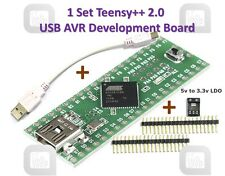 Teensy++ 2.0 USB AVR develope board support audrino IDE Arduino ISP AT90USB1286