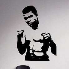 Muhammad Ali Boxer Wall Decal Cassius Clay Vinyl Stickers Home Art Interior 4mal