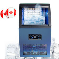 110Lbs Auto Ice Cube Maker Machine Stainless Steel Bar 110V 230W USA Canada Sale