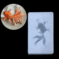 New Goldfish Pendant Liquid Silicone Mold Jewelry Making Craft Epoxy Resin Molds