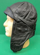 Imperial German Leather Flying Helmet