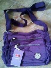 Purple Messenger Bag Ladies Handbag