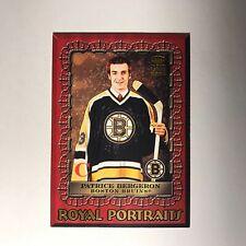 2003-04 Crown Royale Royal Portraits Patrice Bergeron