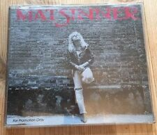 Mat Sinner - Back To The Bullet - RARE Promo CD Single VGC - FAST UK POST