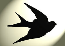Shabby Chic Stencil 1x Swallow Rustic Mylar Vintage style A4 297x210mm wall art