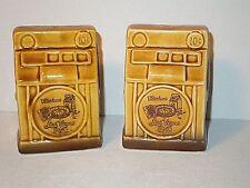Vintage Japan Souviner Las Vegas Slot Machines Ceramic Salt & Pepper Shaker Set
