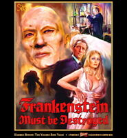 Hammer Frankenstein Must Be Destroyed Exclusive Collectors Poster Peter Cushing