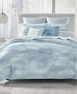 Hotel Collection 400 TC Pima Cotton Watercolor Ethereal Comforter - FULL / QUEEN
