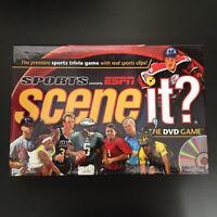 Sports ESPN Scene it? The DVD Board Game Trivia 2005 New Open Box Sealed Parts
