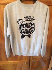 Worn Grey Money Gang Xl Sweatshirt