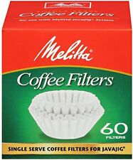 Melitta JavaJig Replacement Filters, 60 Count - 6 Pack
