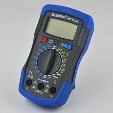 LCR Meter Inductance Capacitance Resistance Multimeter Ohm Inductor CAP Tester