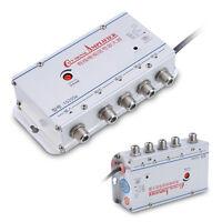 HDTV AMP 20DB TV 1 Entrée 4 Sorties Antenne Signal Amplificateur Television
