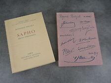 Daudet Alphonse Sapho Decaris Sauret Imprimerie Nationale