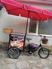 More details for hot dog trike, bike, food catering, street food, catering van.