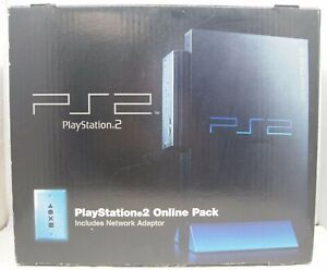 Sony PlayStation 2 PS2 Fat Online Pack Authentic Console BOX ONLY