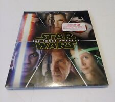 STAR WARS THE FORCE AWAKENS Blu-Ray + DVD + Digital HD Target Exclusive BONUS
