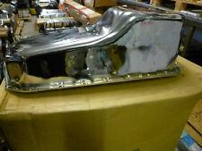 Ölwanne Chrom Chevrolet Small Block V8 305 350 383 Peilstab Beifahrer