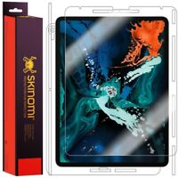 "Skinomi FULL BODY Skin+Clear Screen Protector For Apple iPad Pro 12.9"" (2018)"