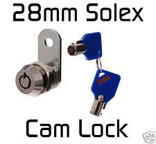 28mm CAM LOCK Tool Box Ute Hard top  Desk Quility Solex Security !!!!!