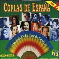 COPLAS DE ESPAÑA - ANTOLOGIA DE LA CANCION ESPAÑOLA VOL.02 - 2CDS [CD]