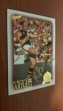 1996 Select Hall of Fame (82) BARTLETT Richmond HAND SIGNED in GOLD