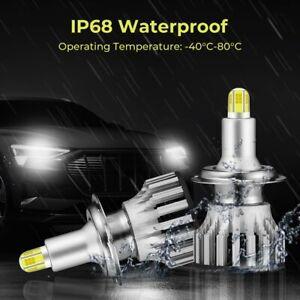 2x H7 LED Nebel Scheinwerfer Auto 12V 55W 3570 Birnen Lampe 6000K Xenon Weiß