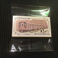 2016 TOPPS ALLEN GINTER SUBWAYS & STREETCARS *COMPLETE MINI SET*  SS-1 TO SS-12