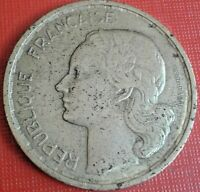 France Coin 20 Francs 1950 Guiraud Km#3 Grade Nice Bronze Coins