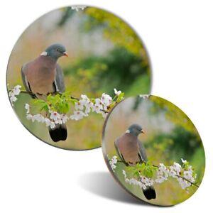 Mouse Mat & Coaster Set - Common Wood Pigeon Bird  #44688