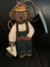 Boyds Bears Jill Strausbaugh Ornament Bear With Bird House