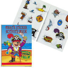PIRATE STICKER MINI ACTIVITY BOOK A6 PARTY BAGS LOOT HOLIDAY TRAVEL BOOK